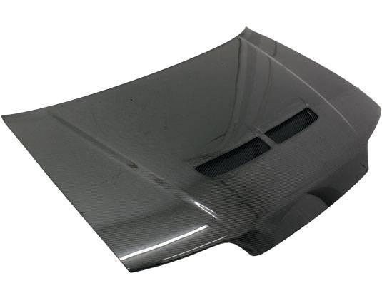 VIS Racing - Carbon Fiber Hood Techno R Style for Honda Civic (JDM) Hatchback 88-91