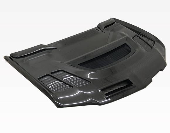 VIS Racing - Carbon Fiber Hood JC Style for Mitsubishi EVO 9 4DR 06-07