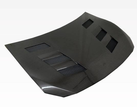 VIS Racing - Carbon Fiber Hood AMS Style for Subaru BRZ 2DR 2013-2020