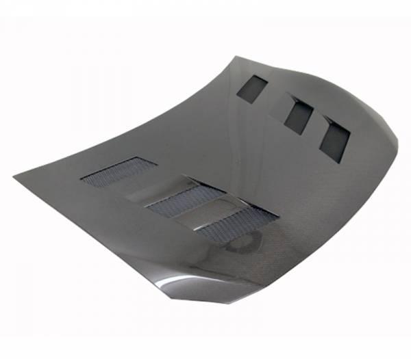 VIS Racing - Carbon Fiber Hood AMS Style for Scion FRS 2DR 2013-2020