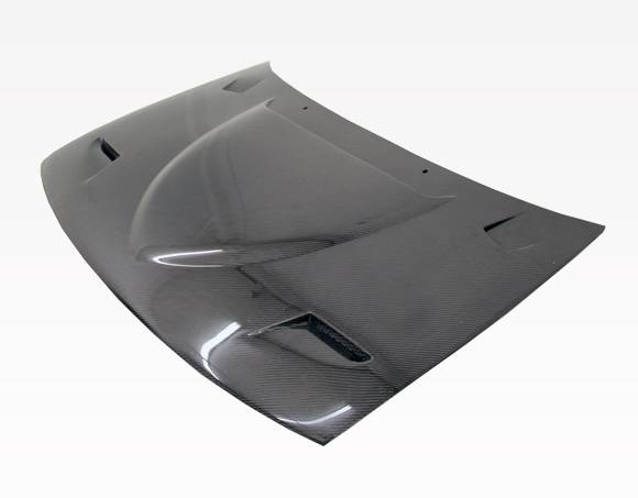 VIS Racing - Carbon Fiber Hood Euro R Style for AUDI S4 4DR 98-02