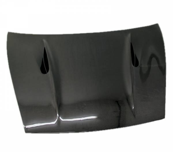 VIS Racing - Carbon Fiber Hood A Tech Style for Porsche Cayenne 4DR 02-10
