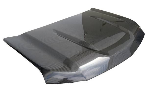 VIS Racing - Carbon Fiber Hood OEM  Style for Chevrolet Silverado  2DR/4DR HD 19-20