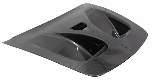 VIS Racing - Carbon Fiber Hood DTM Style for Ferrari F 430 2DR 05-09