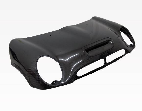 VIS Racing - Carbon Fiber Hood OEM Style for Mini Cooper S 2DR 02-06