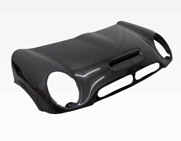 VIS Racing - Carbon Fiber Hood OEM Style for Mini Cooper S Convertible 05-08