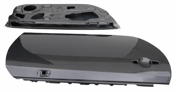 VIS Racing - Carbon Fiber Door OEM Style for Scion FRS 2DR 13-19