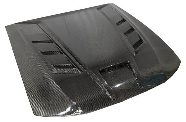 VIS Racing - Carbon Fiber Hood Terminator Style for 1999-2004 Ford Mustang