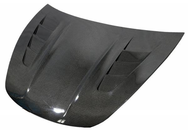 VIS Racing - Carbon Fiber Hood ASM Style for 2017-2020 Tesla Model 3