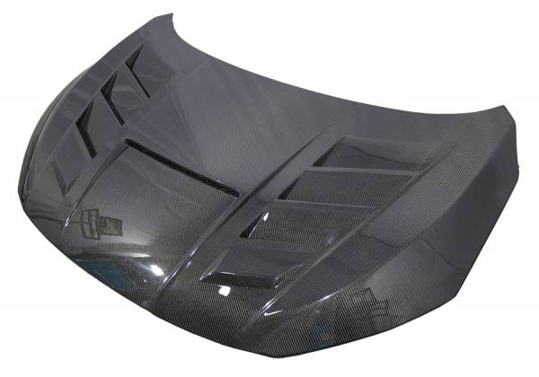 VIS Racing - Carbon Fiber Hood VS 2 Style for Honda Civic Type R 2016-2020