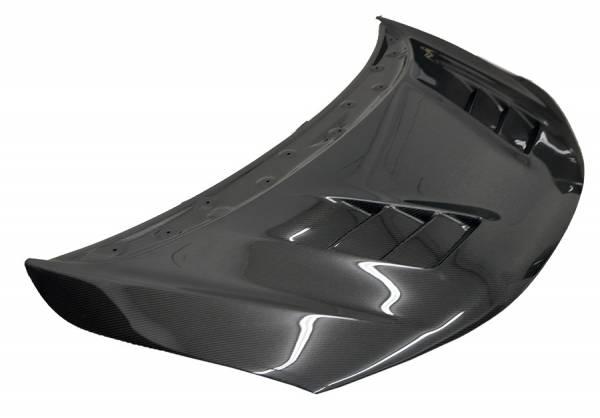 VIS Racing - Carbon Fiber Hood Terminator Style for Honda Fit  4DR 2015-2017