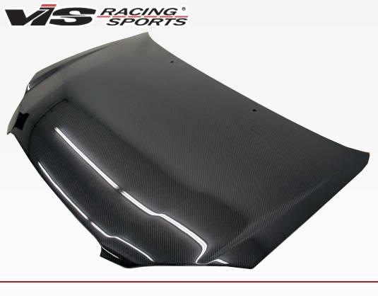 VIS Racing - Carbon Fiber Hood OEM Style for Toyota Corolla 4DR 2007-2013