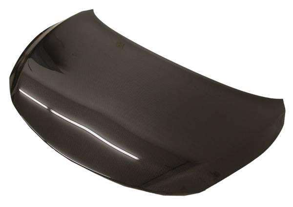 VIS Racing - Carbon Fiber Hood OEM Style for Nissan Versa 4DR & Hatchback 14-16