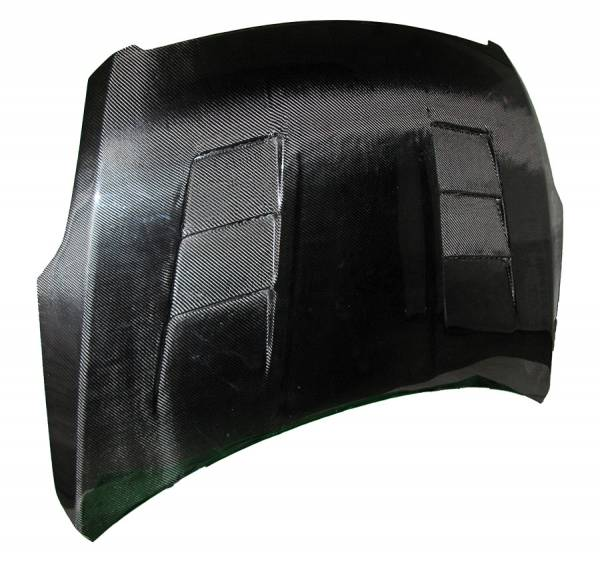 VIS Racing - Carbon Fiber Hood Terminator Style for Nissan Altima 4DR 07-09