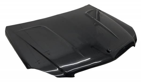 VIS Racing - Carbon Fiber Hood OEM Style for Mercedes C-Class 4DR 12-14