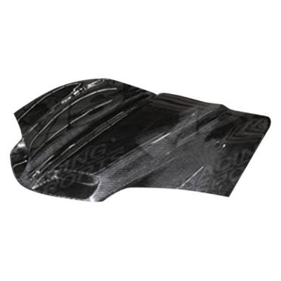 VIS Racing - Carbon Fiber Hood GTO Style for Pontiac Firebird 2DR 93-97 - Image 1