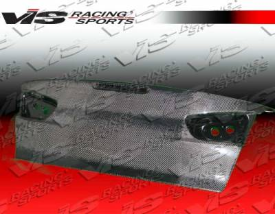 VIS Racing - Carbon Fiber Trunk OEM Style for Mitsubishi EVO 10 4DR 08-15 - Image 3