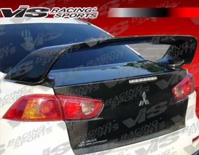 VIS Racing - Carbon Fiber Trunk OEM Style for Mitsubishi EVO 10 4DR 08-15 - Image 4