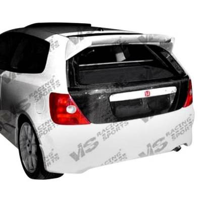VIS Racing - Carbon Fiber Hatch OEM Style for Honda Civic (SI) US Hatchback 02-05 - Image 4