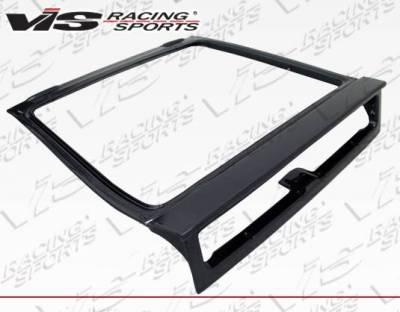 VIS Racing - Carbon Fiber Hatch OEM Style for Honda CRX Hatchback 88-91 - Image 2