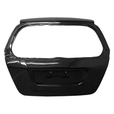 VIS Racing - Carbon Fiber Hatch OEM Style for Honda Fit 4DR 07-08 - Image 1