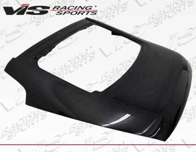 VIS Racing - Carbon Fiber Hatch OEM Style for Nissan 350Z Hatchback 03-08 - Image 1