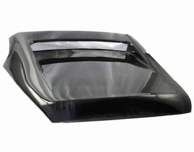 VIS Racing - Carbon Fiber Hatch Tunnel Style for Nissan 350Z Hatchback 03-08 - Image 2