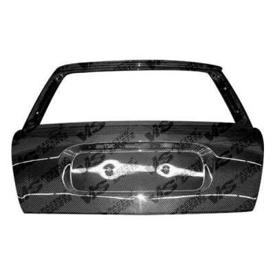 VIS Racing - Carbon Fiber Hatch OEM Style for Scion XB (JDM) 4DR 04-06 - Image 2