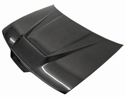 VIS Racing - Carbon Fiber Hood Invader Style for Acura Integra 2DR & 4DR 90-93 - Image 2