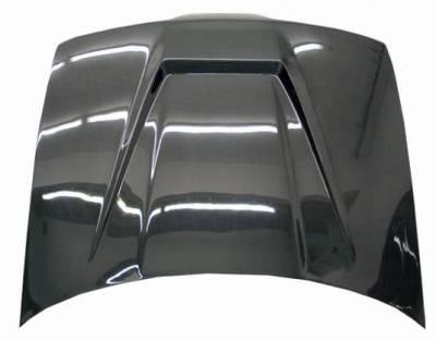 VIS Racing - Carbon Fiber Hood Invader Style for Acura Integra 2DR & 4DR 90-93 - Image 3