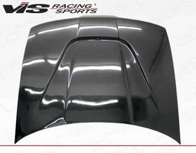 VIS Racing - Carbon Fiber Hood JS Style for Acura Integra 2DR & 4DR 90-93 - Image 3