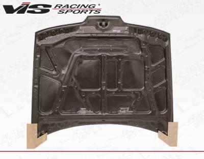 VIS Racing - Carbon Fiber Hood JS Style for Acura Integra 2DR & 4DR 90-93 - Image 4
