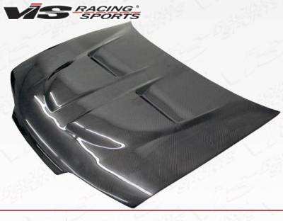 VIS Racing - Carbon Fiber Hood Xtreme GT Style for Acura Integra 2DR & 4DR 90-93 - Image 2
