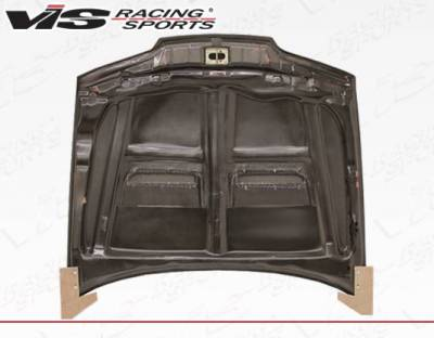 VIS Racing - Carbon Fiber Hood Xtreme GT Style for Acura Integra 2DR & 4DR 90-93 - Image 4