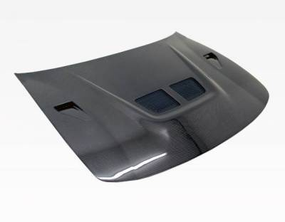 VIS Racing - Carbon Fiber Hood EVO  Style for Acura Integra 2DR & 4DR 94-01 - Image 1