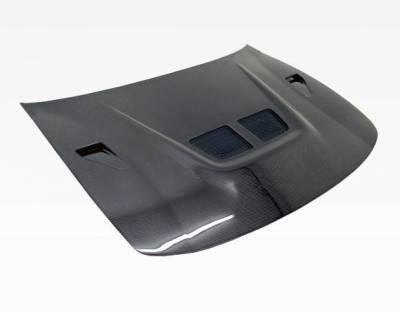 VIS Racing - Carbon Fiber Hood EVO  Style for Acura Integra 2DR & 4DR 94-01 - Image 2