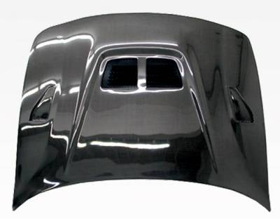 VIS Racing - Carbon Fiber Hood EVO  Style for Acura Integra 2DR & 4DR 94-01 - Image 3