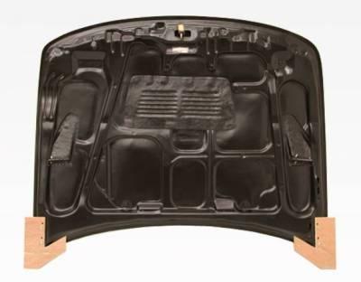 VIS Racing - Carbon Fiber Hood EVO  Style for Acura Integra 2DR & 4DR 94-01 - Image 4