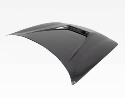 VIS Racing - Carbon Fiber Hood Invader Style for Acura Integra 2DR & 4DR 94-01 - Image 3
