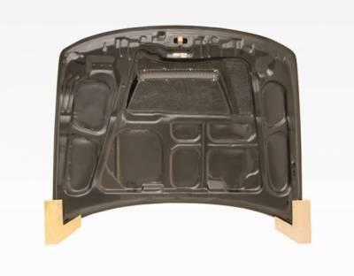 VIS Racing - Carbon Fiber Hood Invader Style for Acura Integra 2DR & 4DR 94-01 - Image 4