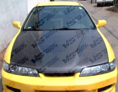 VIS Racing - Carbon Fiber Hood Invader  Style for Acura Integra (JDM) 2DR & 4DR 94-01 - Image 2