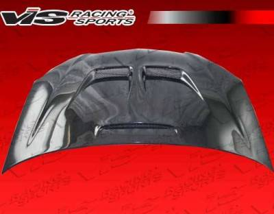 VIS Racing - Carbon Fiber Hood JS Style for Acura RSX 2DR 02-06 - Image 3