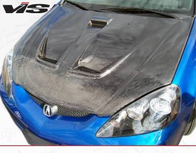 VIS Racing - Carbon Fiber Hood Techno R Style for Acura RSX 2DR 02-06 - Image 3