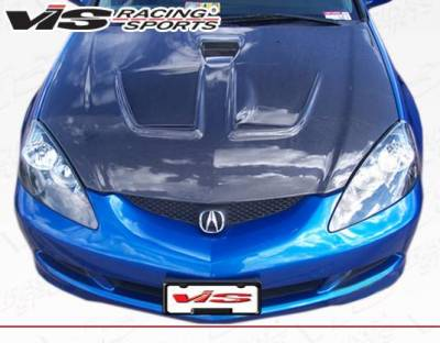 VIS Racing - Carbon Fiber Hood Techno R Style for Acura RSX 2DR 02-06 - Image 4