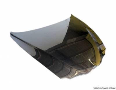 VIS Racing - Carbon Fiber Hood OEM Style for Alfa Romeo 147 2DR & Hatchback 00-07 - Image 2