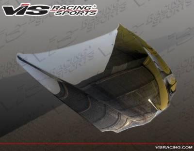 VIS Racing - Carbon Fiber Hood OEM Style for Alfa Romeo 147 2DR & Hatchback 00-07 - Image 3