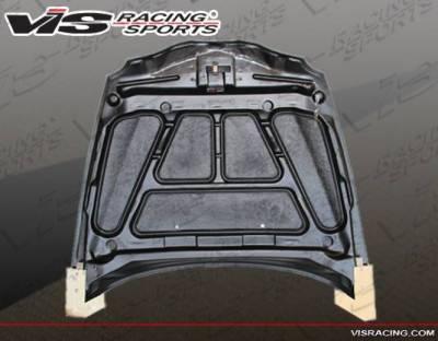 VIS Racing - Carbon Fiber Hood OEM Style for Alfa Romeo 147 2DR & Hatchback 00-07 - Image 4
