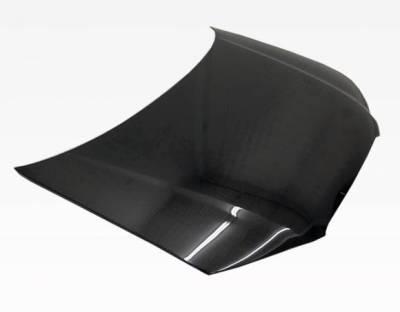 VIS Racing - Carbon Fiber Hood OEM Style for AUDI A3 4DR 06-08 - Image 2