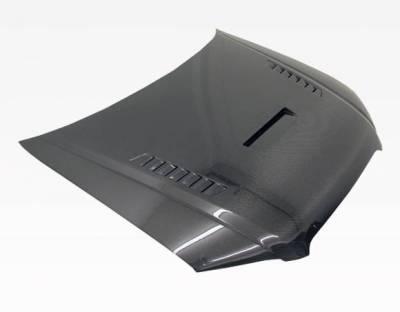 VIS Racing - Carbon Fiber Hood XTS Style for AUDI A4 4DR 06-08 - Image 3