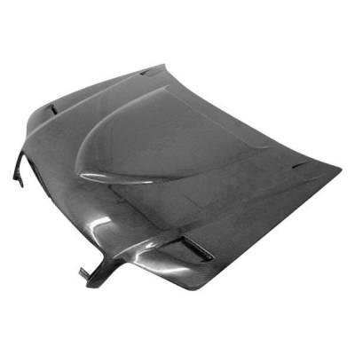 VIS Racing - Carbon Fiber Hood Euro R Style for AUDI A4 4DR 02-05 - Image 1